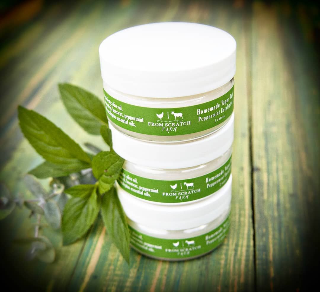 Our allnatural, chemicalfree VAPOR RUB is the perfect