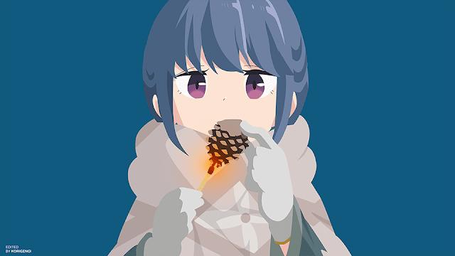 Shima Rin Yuru Camp Wallpaper In 2020 Anime Background Anime Rin