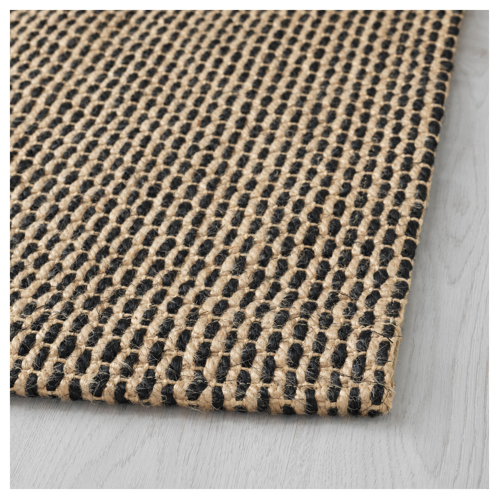 ikea sattrup rug flatwoven natural 180x224 cm the rug is. Black Bedroom Furniture Sets. Home Design Ideas