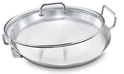 WKCS-18-17 3//4 in Stainless Steel Wok Cover Winco