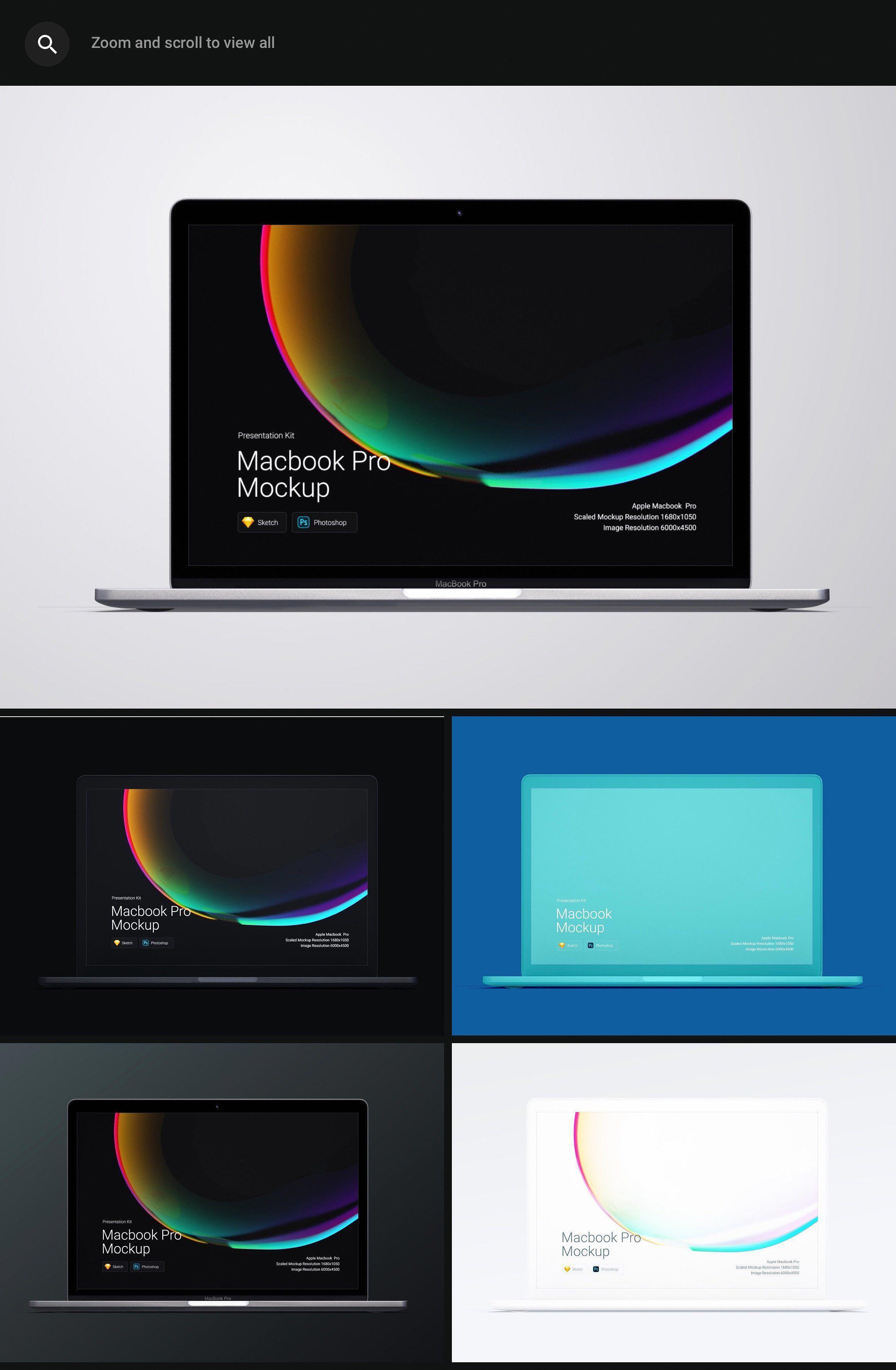 Macbook And Macbook Pro Mockups It S Time To Refresh Your Portfolio Mockup Macbook Webdesign Color Macbook Mockup Iphone Mockup Corporate Brochure Cover
