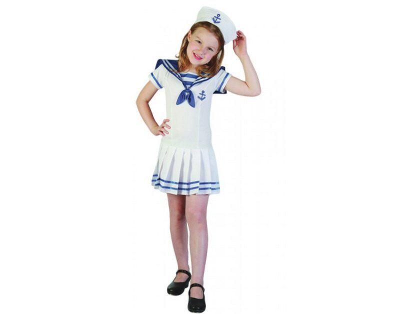 Marine Kinder Kostüm Baby Matrose Karneval Fasching WIL