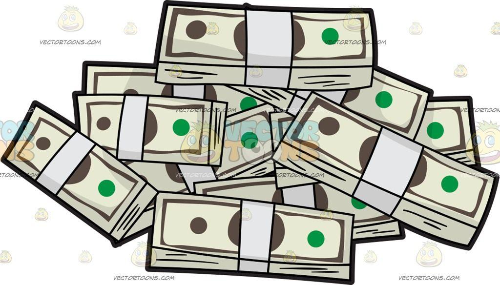 a pile of us dollar money pinterest money clipart rh pinterest com Money in Hand Clip Art Money in Hand Clip Art
