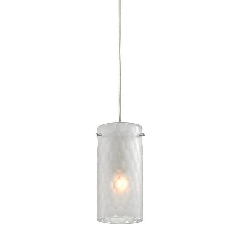 synthesis 1light mini pendant by elk lighting at wayfair