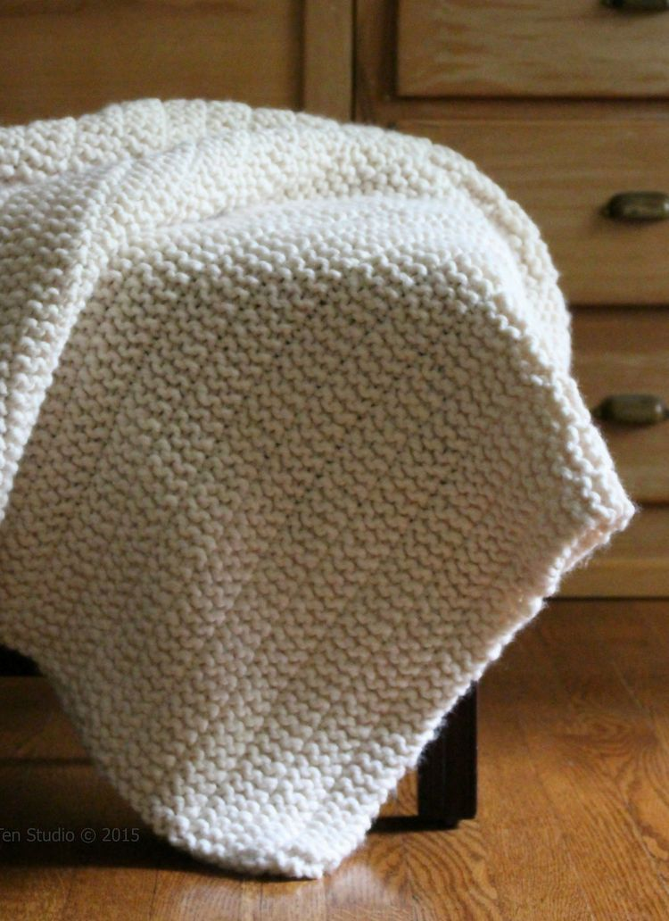 Free Knitting Pattern for Boulevard Blanket - Fifty Four Ten ...