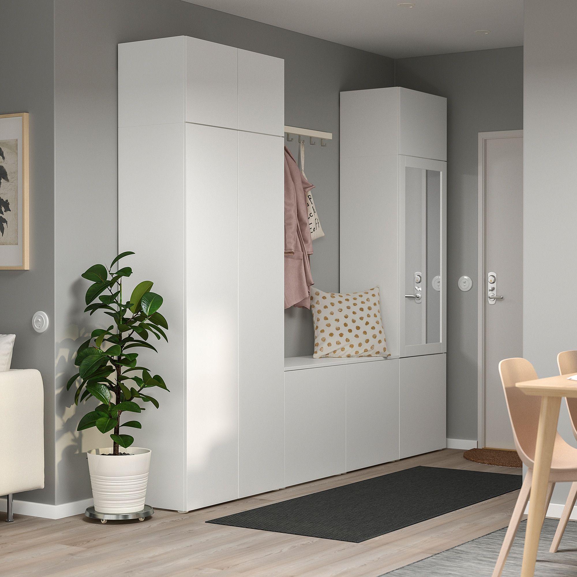 Platsa Kleiderschrank Weiss Fonnes Ridabu Ikea Garderoben Ideen Schlafzimmer Inspirationen Kleiderschrank Weiss