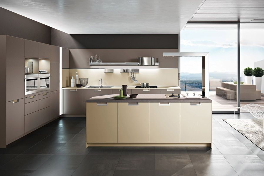 Snaideros New Kitchen Design LUX By Italian Designer Pietro Arosio Belongs To This Wave Of Innovative Proposals Thanks Its Island Extractor Hood With