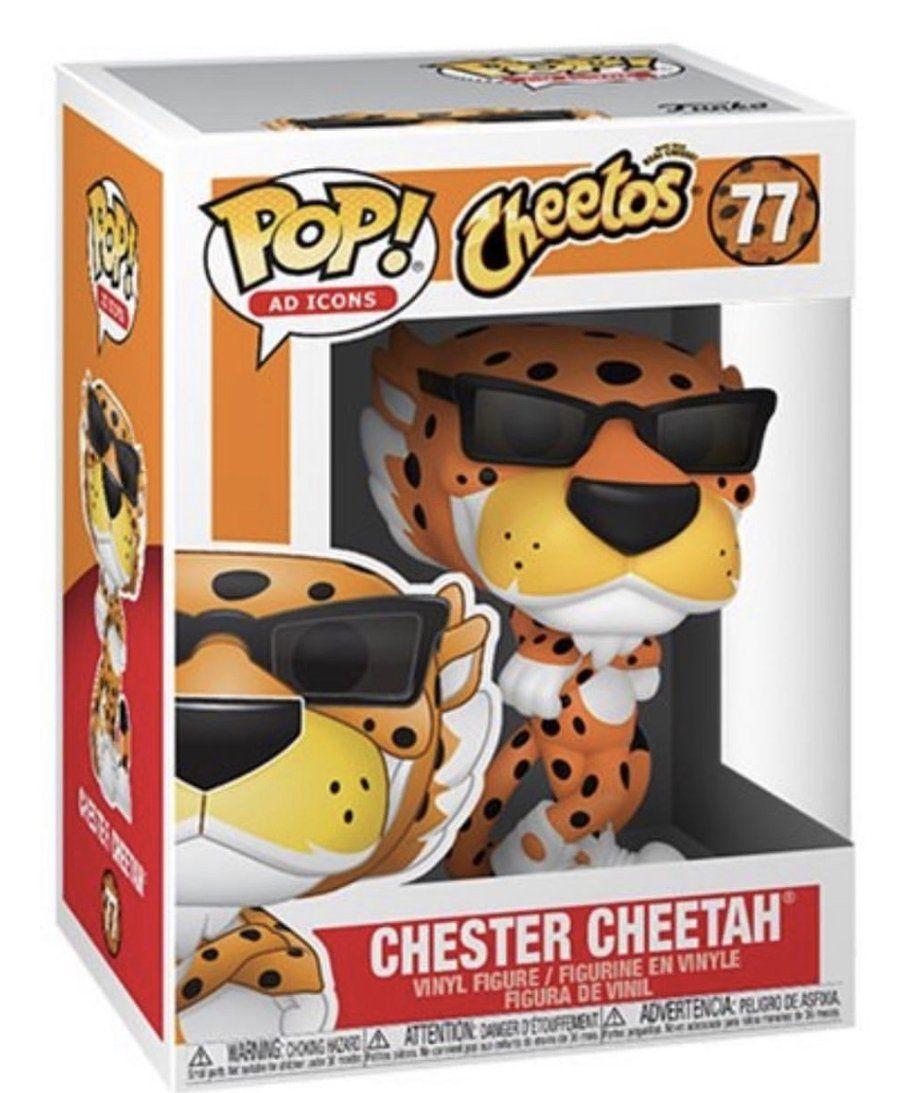 Chester Cheetah Ad Icons Cheetos Funko Pop Vinyl