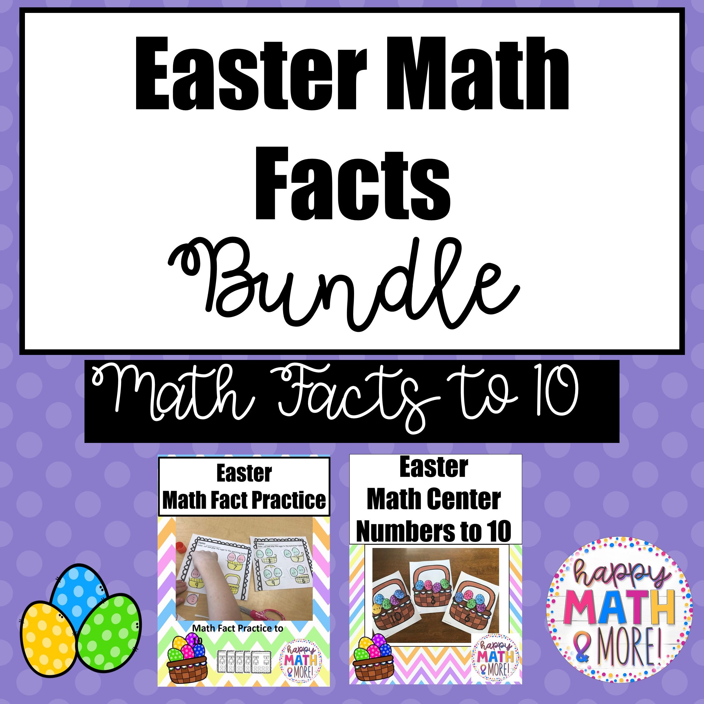 Easter Math Bundle With Images