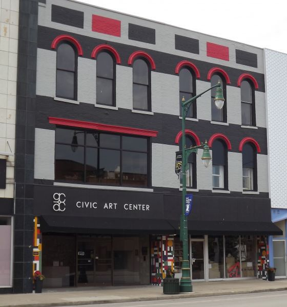 Galesburg Civic Arts Center located Downtown at 114 East Main Street!
