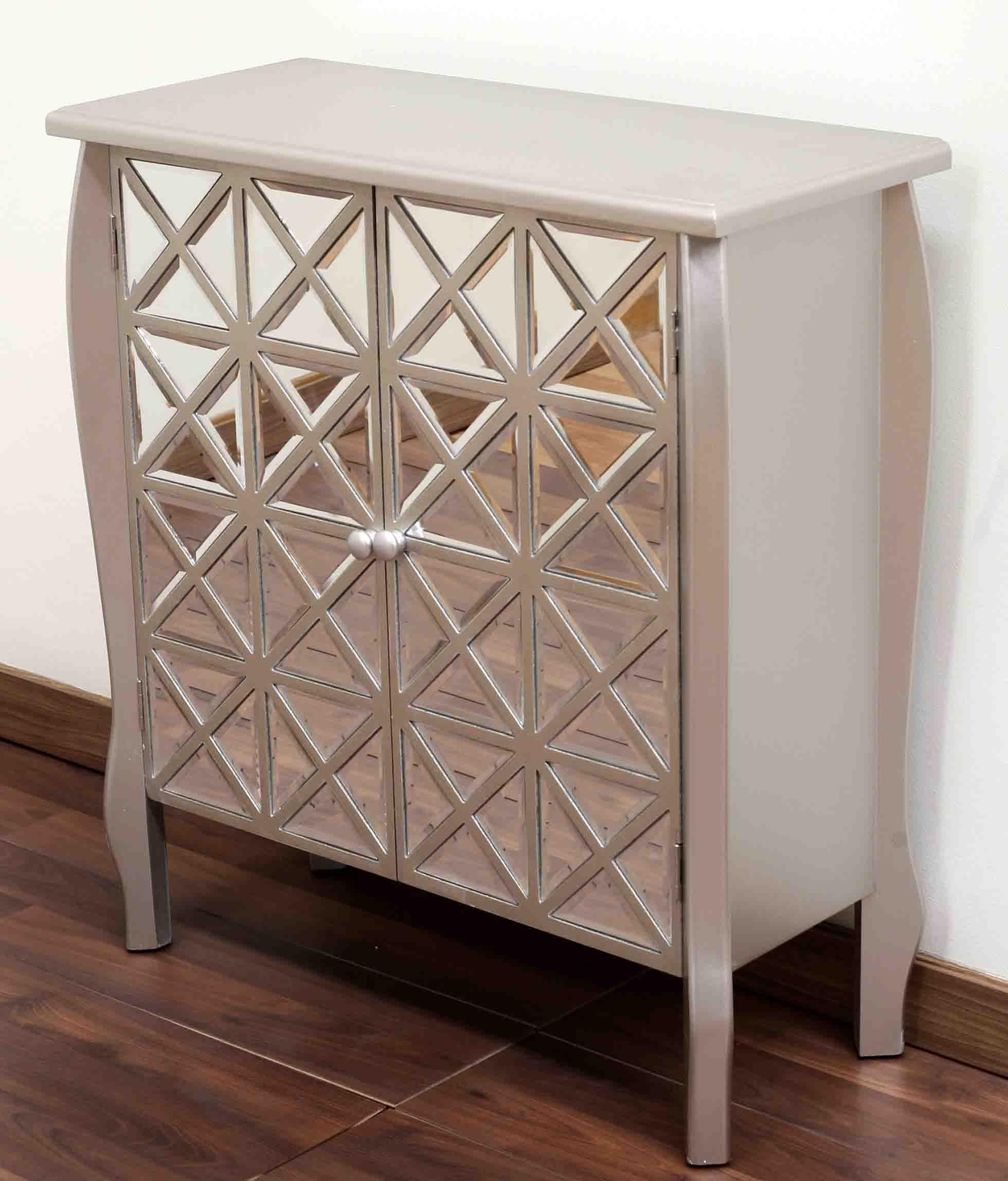 Producto 95257 Mueble Espejo Plata 77 82 32 2 Puertas Caimana  # Caimana Muebles Y Decoracion
