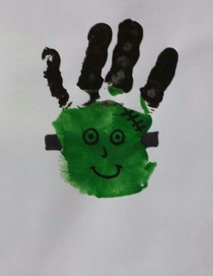Franken Stein... Handprint