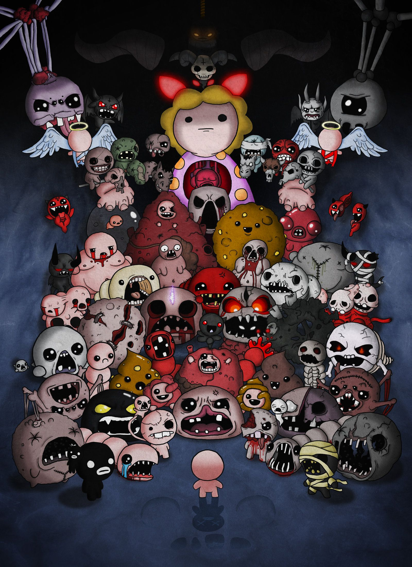 Binding Of Isaac Afterbirth All Bosses Complete The Binding Of Isaac Isaac Binding