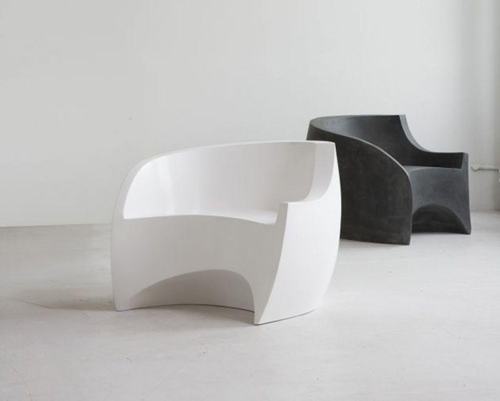 Tasteful Ultra Modern Chairs Furniture Shades Of Black  # Muebles Ergonomicos