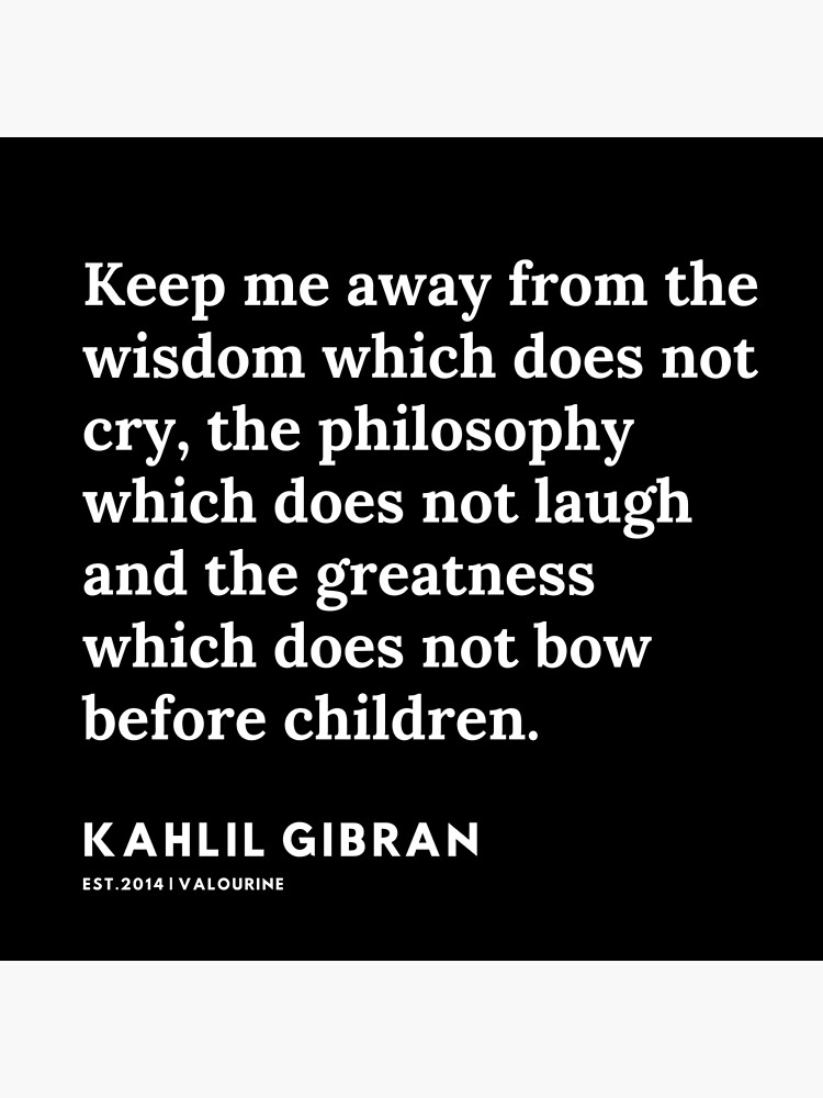 '89 |  19119 | Kahlil Gibran Quotes ' Poster by QuotesGalore