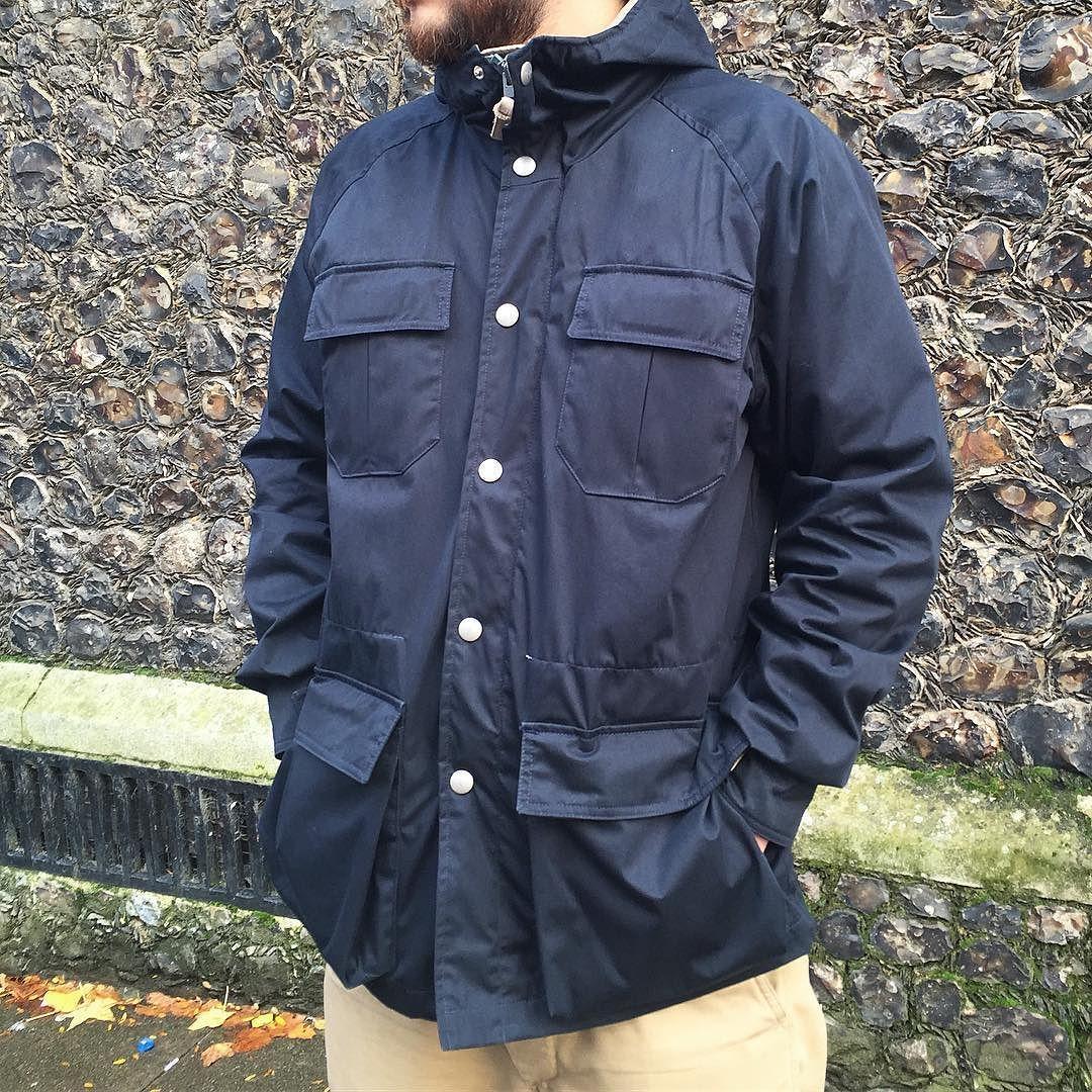 Holubar Mens Short Hunter Winter Down Jacket Military Olive