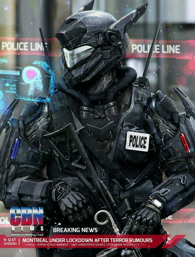 What do you think about Police? in 2020 Sci fi
