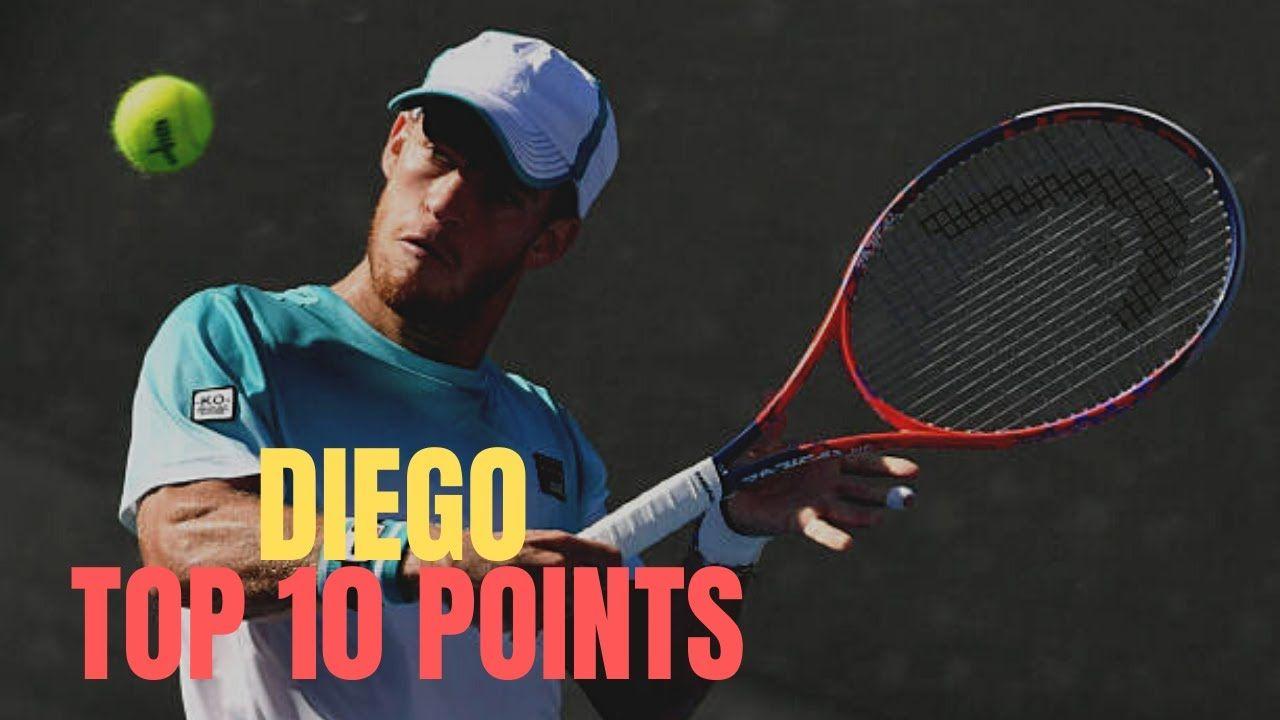 Diego Schwartzman Top 10 Best Shots Match Point Diego Schwartzman Go In 2020 Match Point Pro Tennis Diego