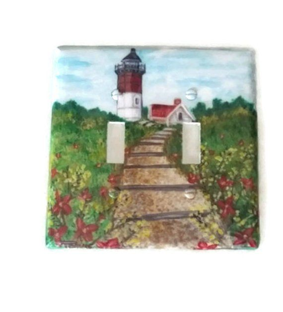 Lighthouse Switch Plate Collection Nauset Cape Cod Lighthouse Inn