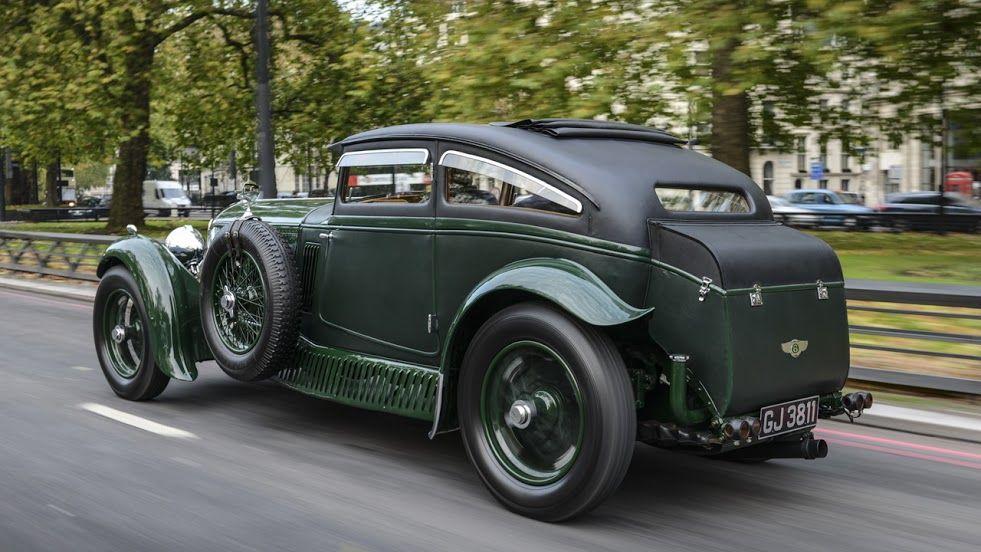 Stunning Bentley Blue Train Celebrates 85th Anniversary In Paris