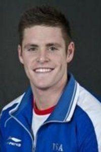 David Boudia.  Gold medal in Men's Platform diving.