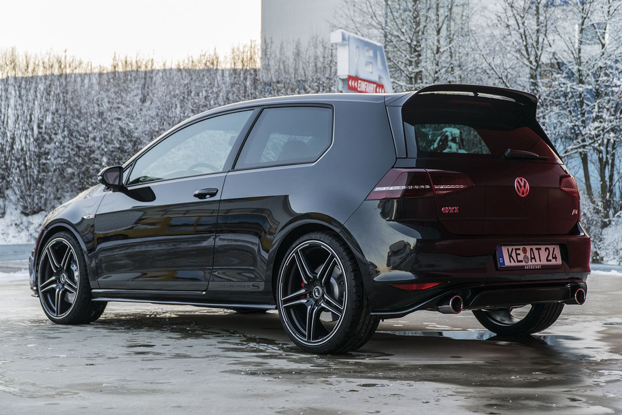 The Vw Golf Gti Clubsport S With 370 Hp And 460 Nm Torque Golf Gti Polo Gti Volkswagen Golf