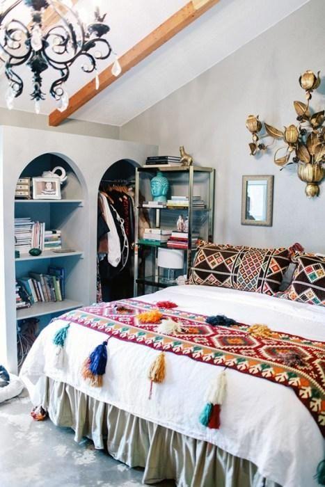 Los 25 dormitorios de estilo boho chic más bellos | Pinterest ...