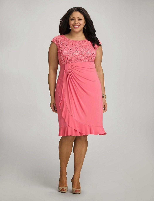 Atractivos vestidos de fiesta para gorditas | Moda 2014 | ropa para ...