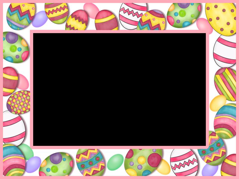 Easter Frame | Borders, Frames & Backgrounds | Pinterest | Easter ...