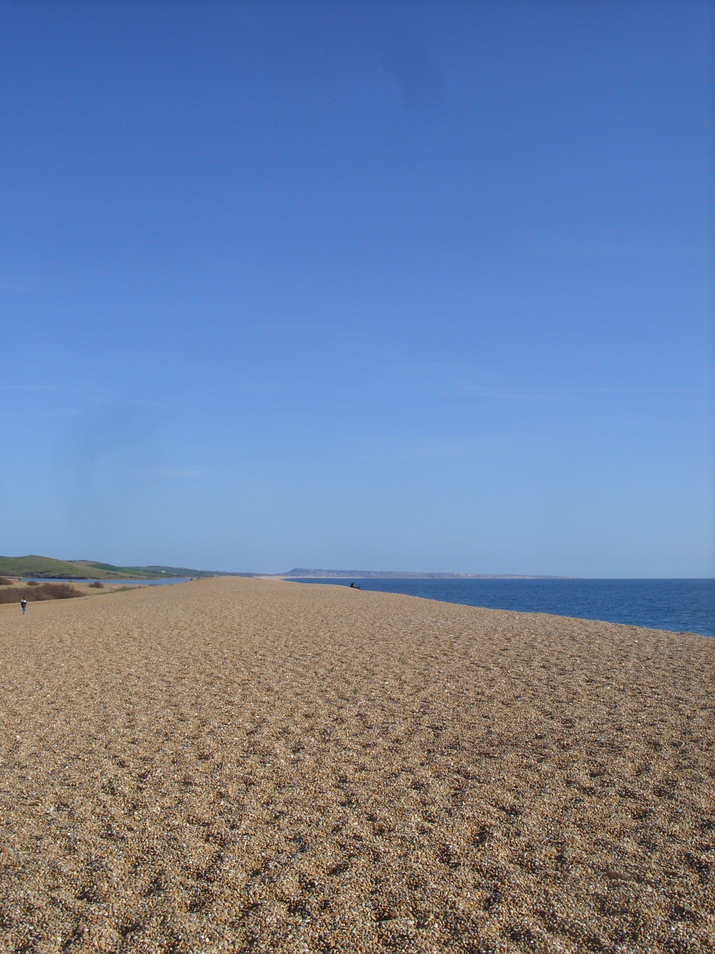 The one merry visit I had to Chesil Beach