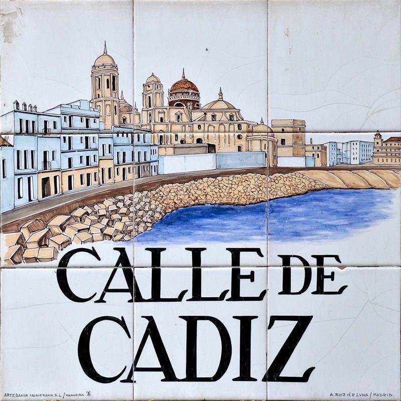Inicialmente llamada majerit actualmente se llama as for Azulejos cadiz