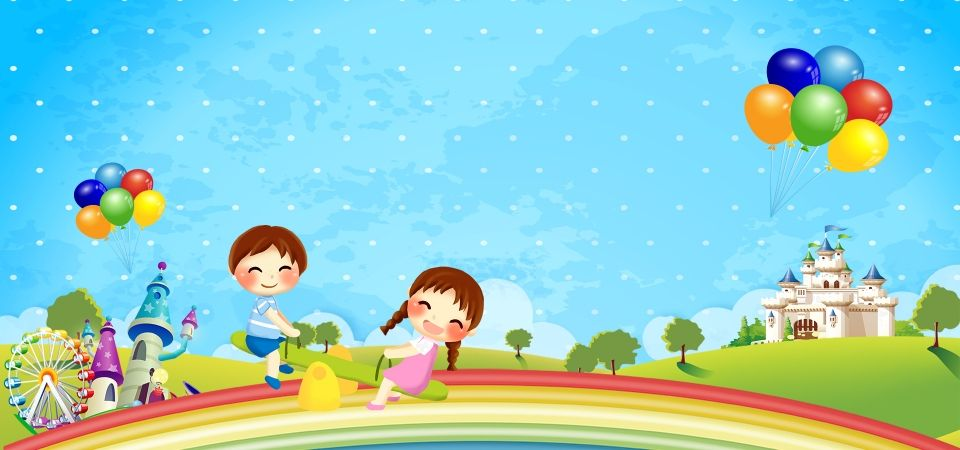Children S Day Children S Day Seesaw Cartoon Promotion Poster Cartoon Background Children S Day Art Drawings For Kids