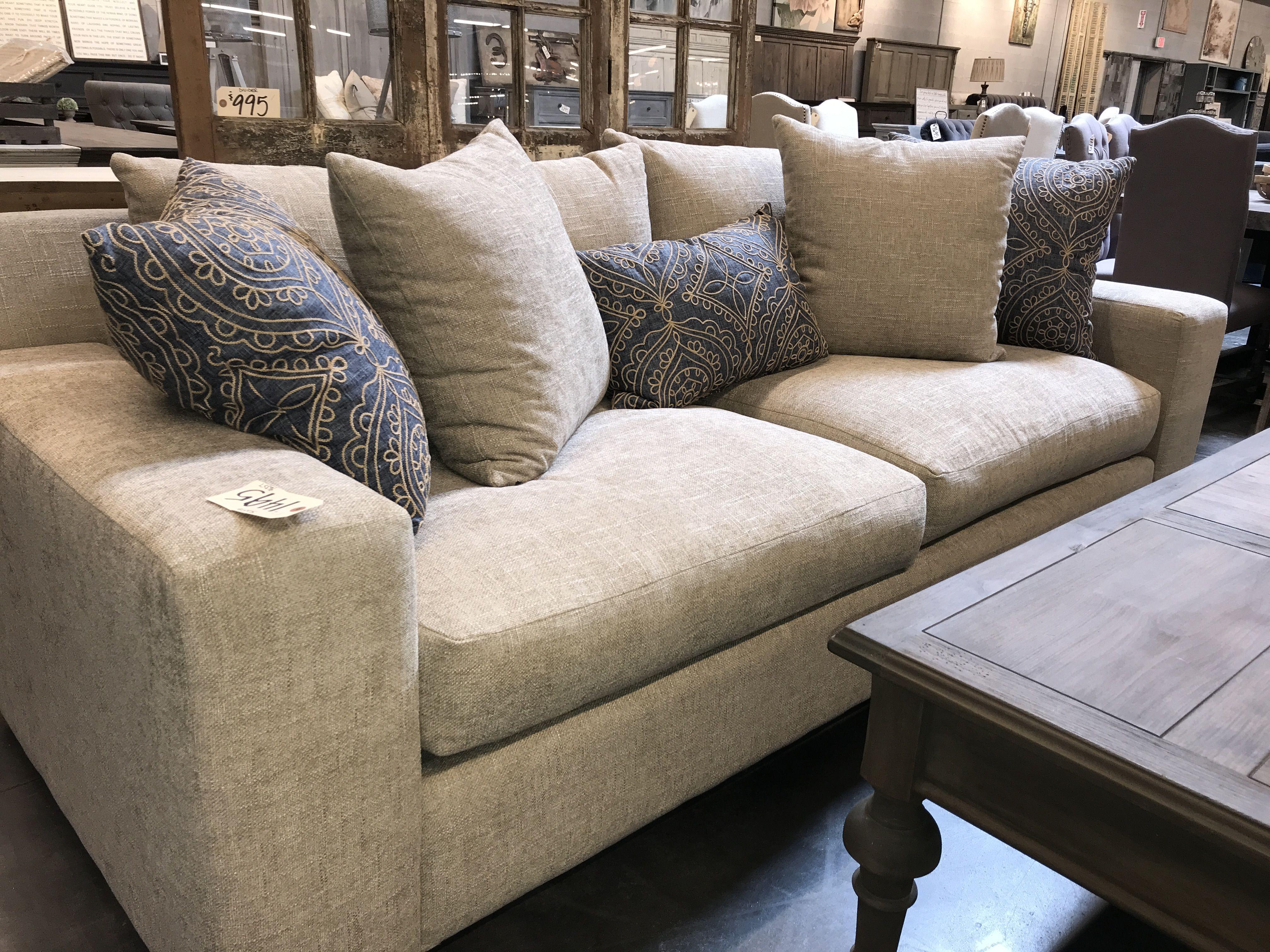 John Michael Designs. Custom Sofa And Pillows.