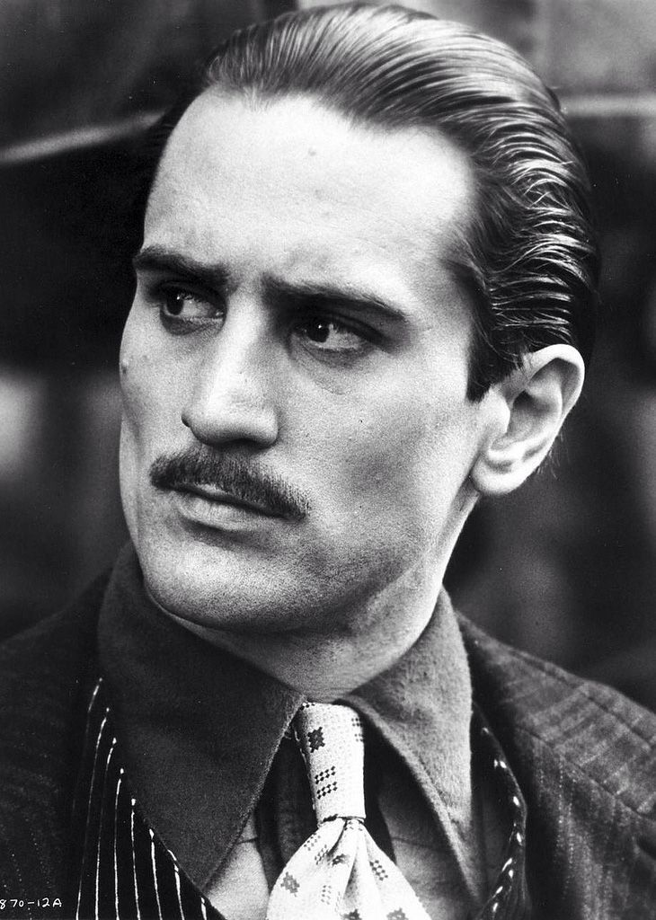 Image result for de niro as vito corleone tough guy