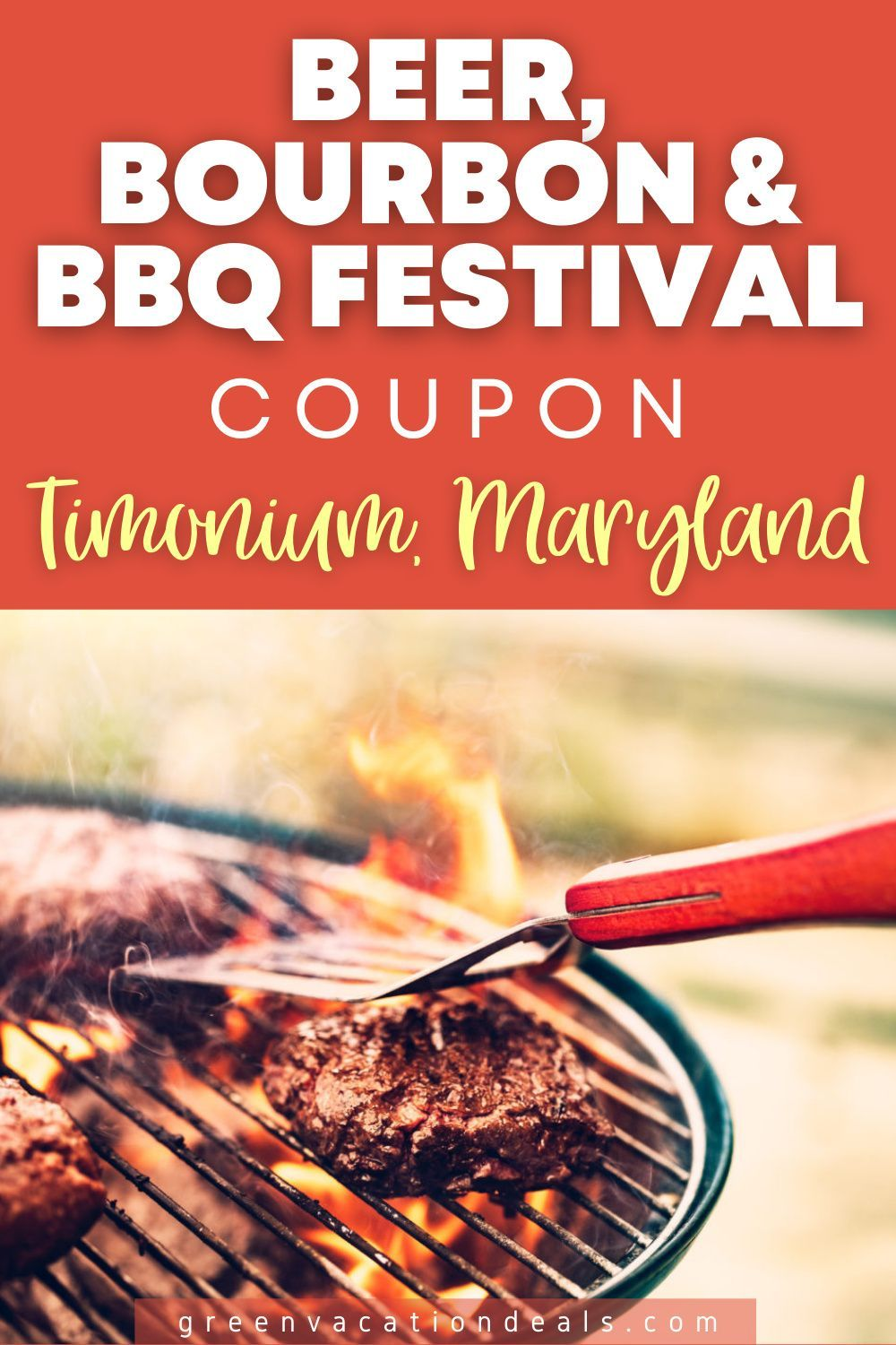 Coupons For Beer Bourbon Bbq Festival In Timonium Maryland Green Vacation Deals In 2020 Bbq Festival Beer Bourbon Bbq Beer Festival