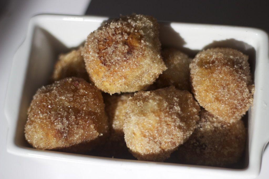 easy pizza dough donut balls