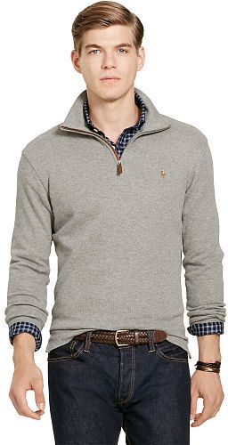 Polo Ralph Lauren Estate-Rib Cotton Pullover | Men's Fashion ...