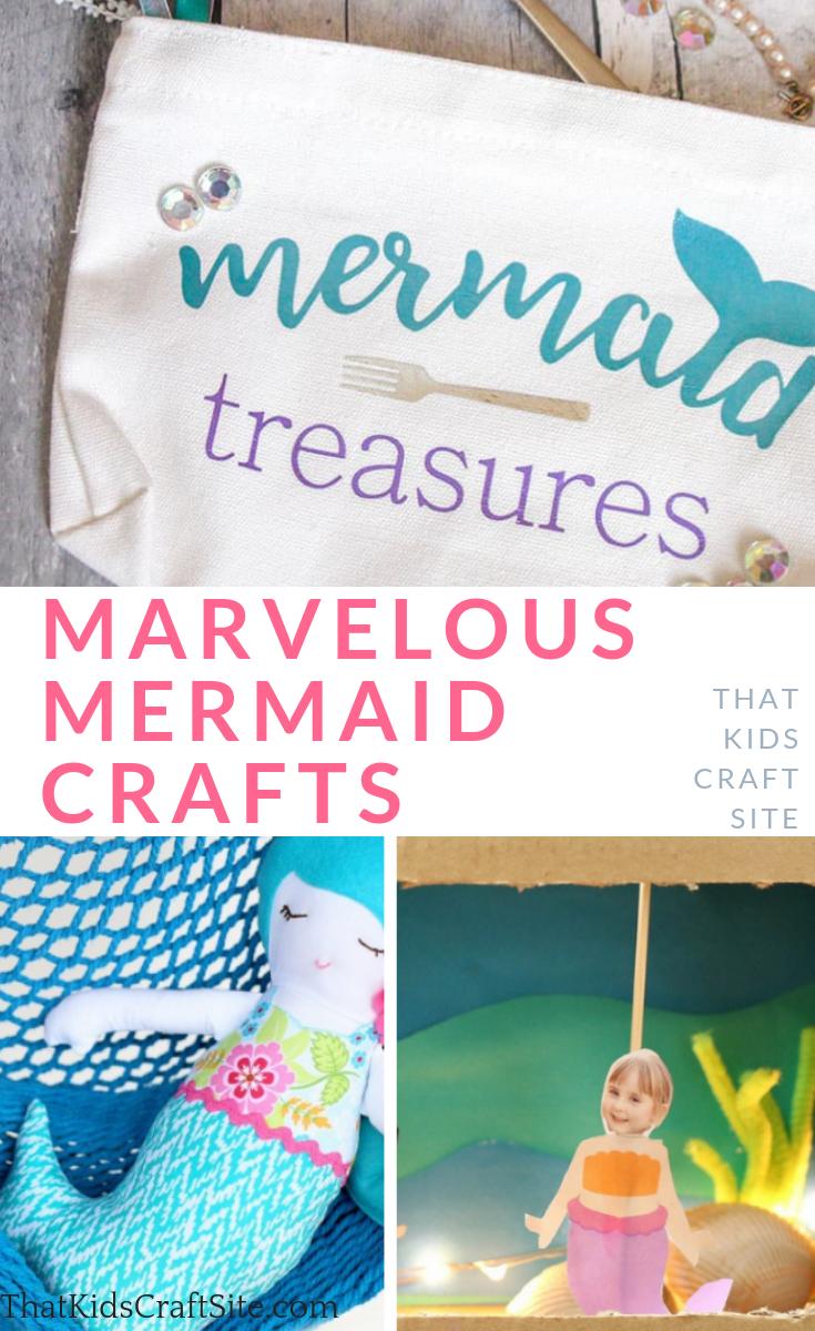 Marvelous Mermaid Crafts For Kids That Kids Craft Site Mermaid