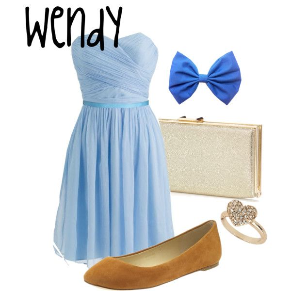 """Wendy"" from ""Peter Pan"" by sydney-emerson on Polyvore. loooove"