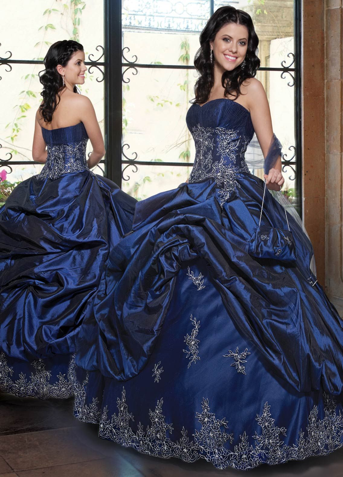 Cheap royalblue ball gown sweetheart and strapless zipper floor