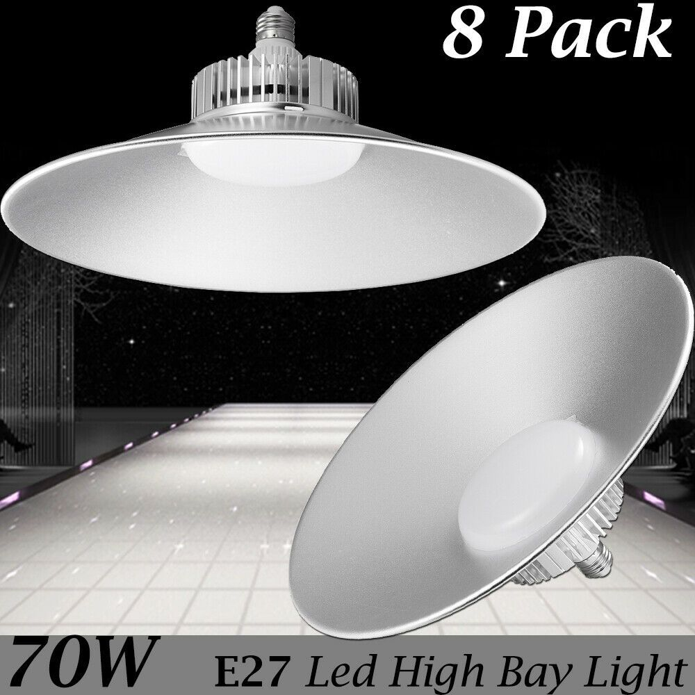 100W LED High Bay Light Industrial Factory Warehouse Workshop Commercial E27