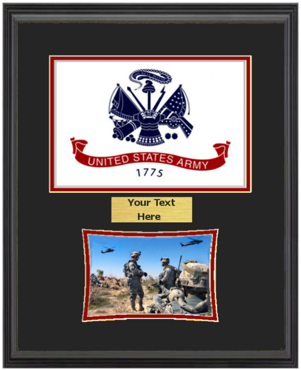 Military memories and more 14 x 18 us army flag frame w 5 x military memories and more 14 x 18 us army flag frame w jeuxipadfo Images