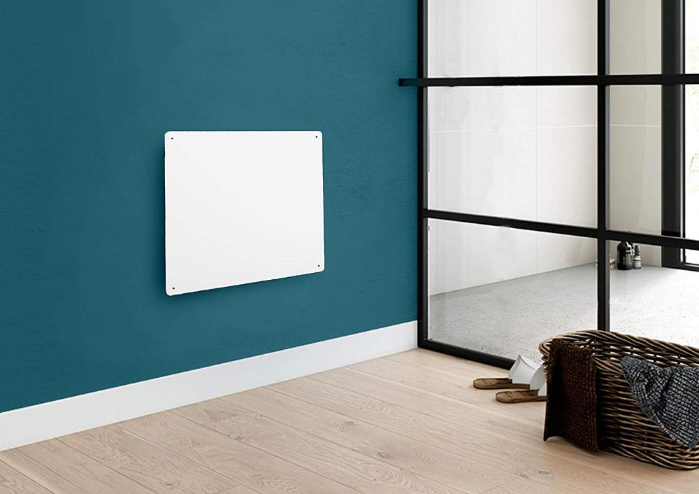 Netta Paintable Slimline Panel Heater 425w Ceramic Wall Mounted