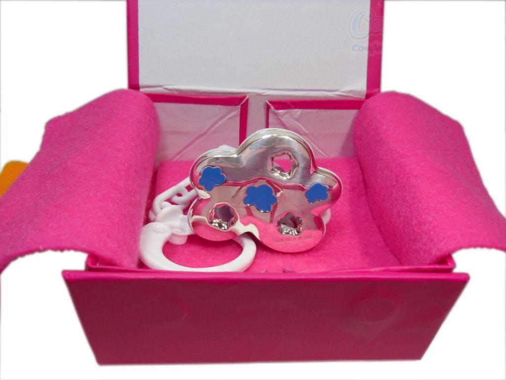 Pinchas de Chupete o chupetero de Agatha Ruiz de la Prada. ¡Un regalo de nacimiento o bautizo original y precioso, con el que acertarás seguro!  www.complepeques.com