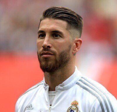Twitter Ramos Haircut Soccer Hairstyles Football Hairstyles