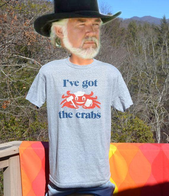 Vintage 70s T Shirt Crab Pot Florida Restaurant By Skippyhaha
