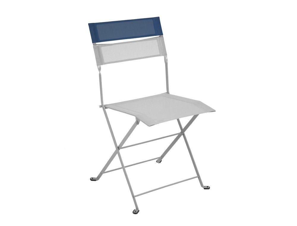 Chaise Bicolore Latitude Chaise De Jardin En Toile Chaise De Jardin Chaise Chaise Pliante