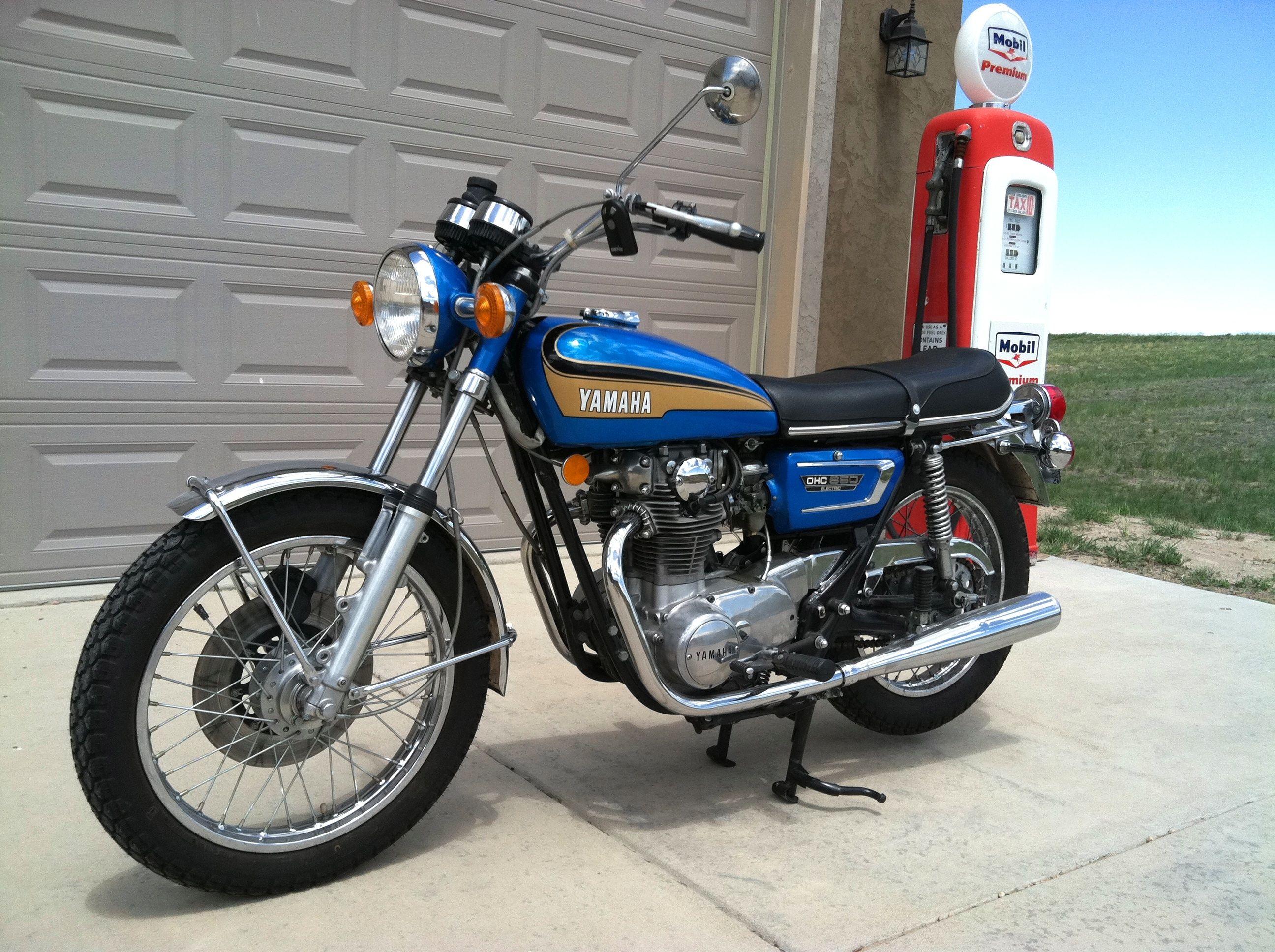 1973 Yamaha Tx650 650cc W Five Speed Transmission Classic
