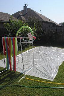 Diary of a Preppy Mom: Summer Boredom Buster: DIY Slip N ...