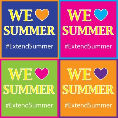 Are you sad summer is almost over? Here are our Top 3 ways to #ExtendSummer